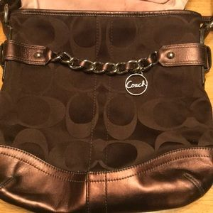 Barley used Coach purse
